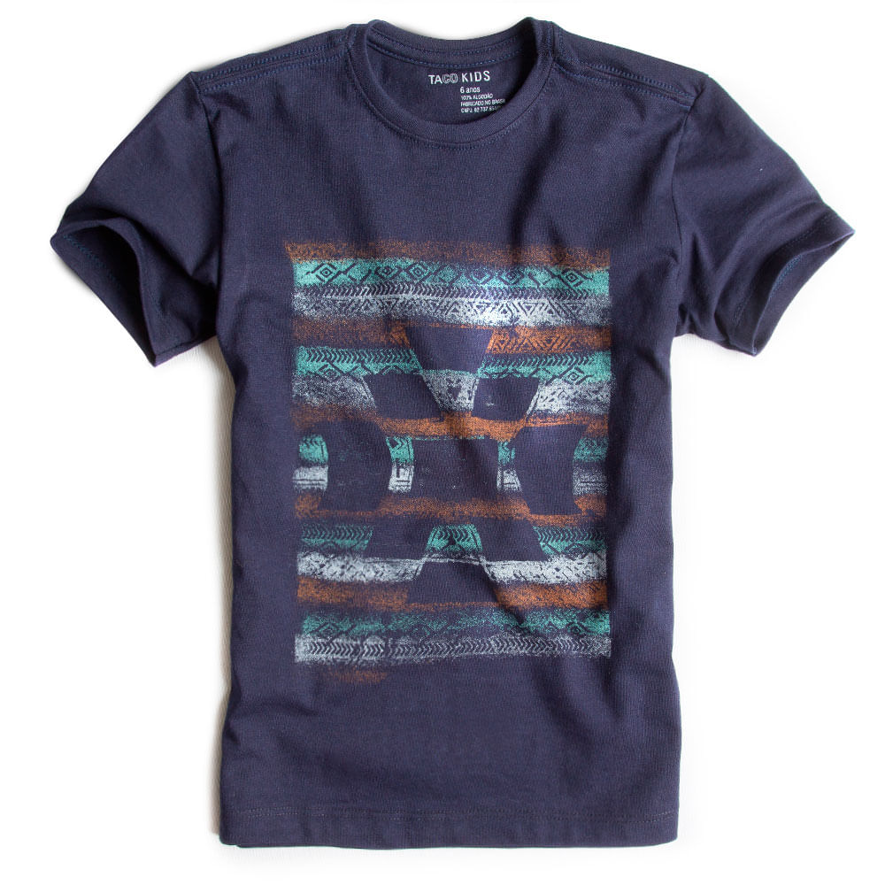T-shirt-Estampada-Azul-Marinho-Infantil-Masculino