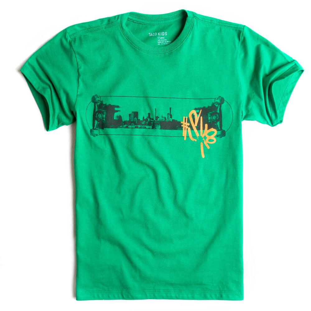 T-shirt-Estampada-Verde-Infantil-Masculino