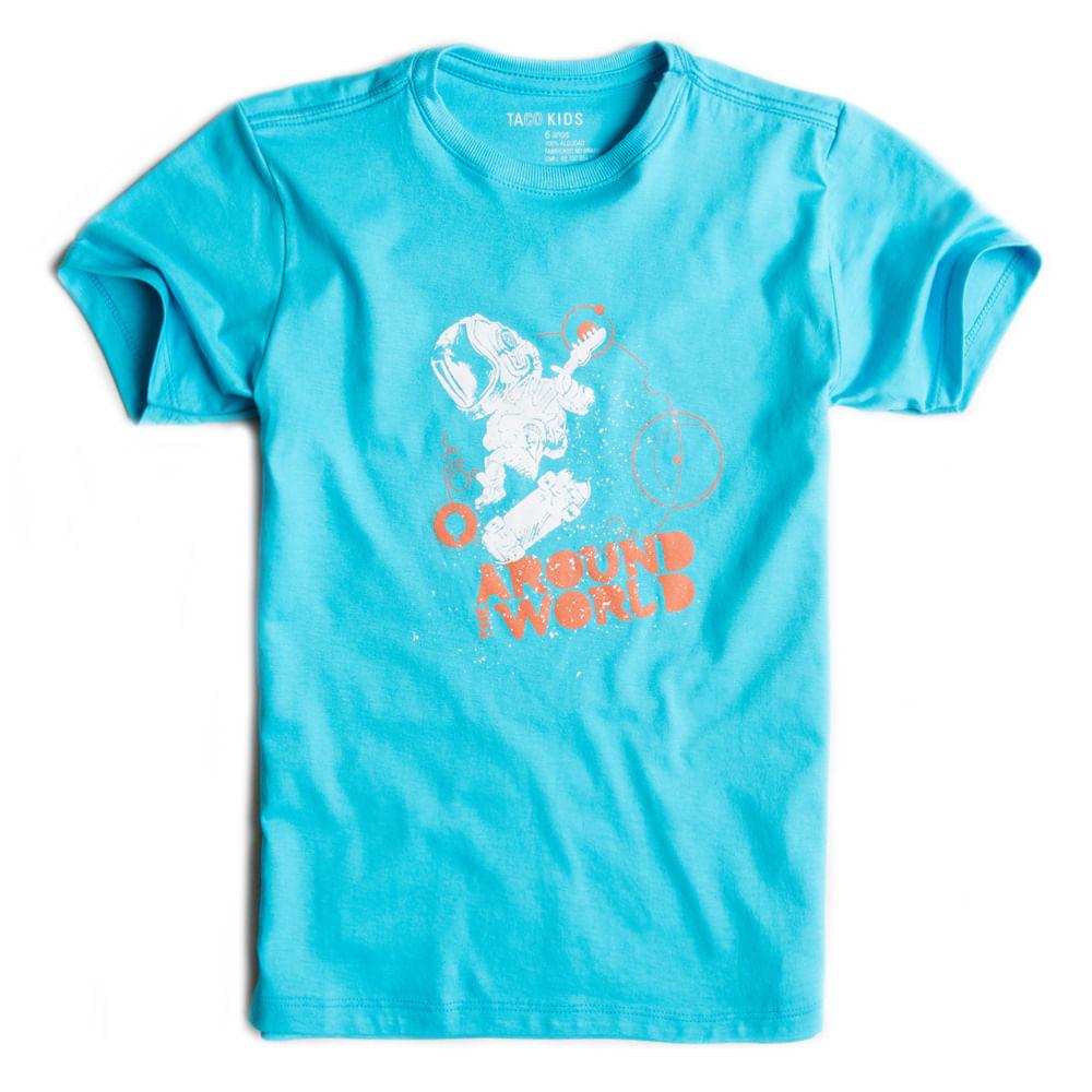 T-shirt-Estampada-Azul-Turquesa-Infantil-Masculino