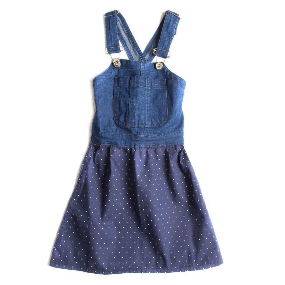 Vestido-Jardineira-Azul-Marinho-Infantil-Feminino