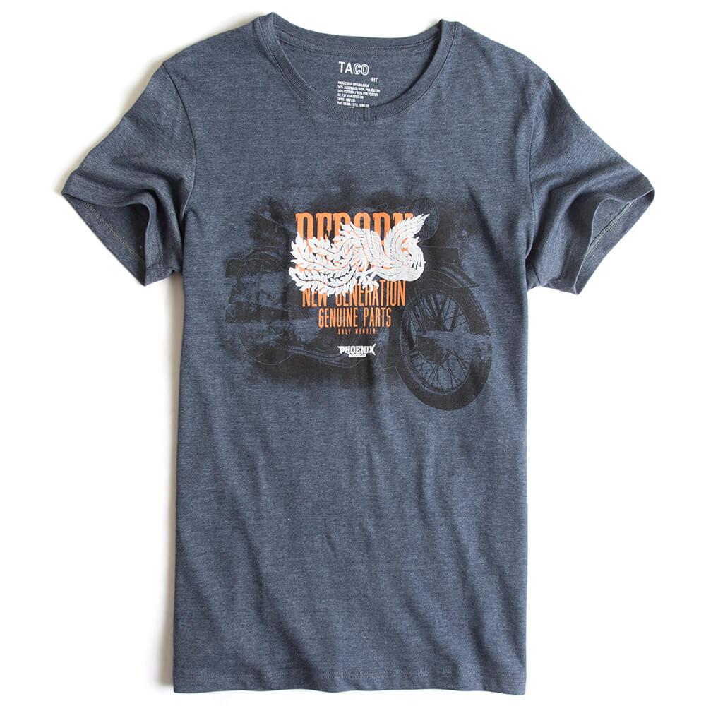 T-shirt-Fit-Estampada-Azul-Marinho-Mescla