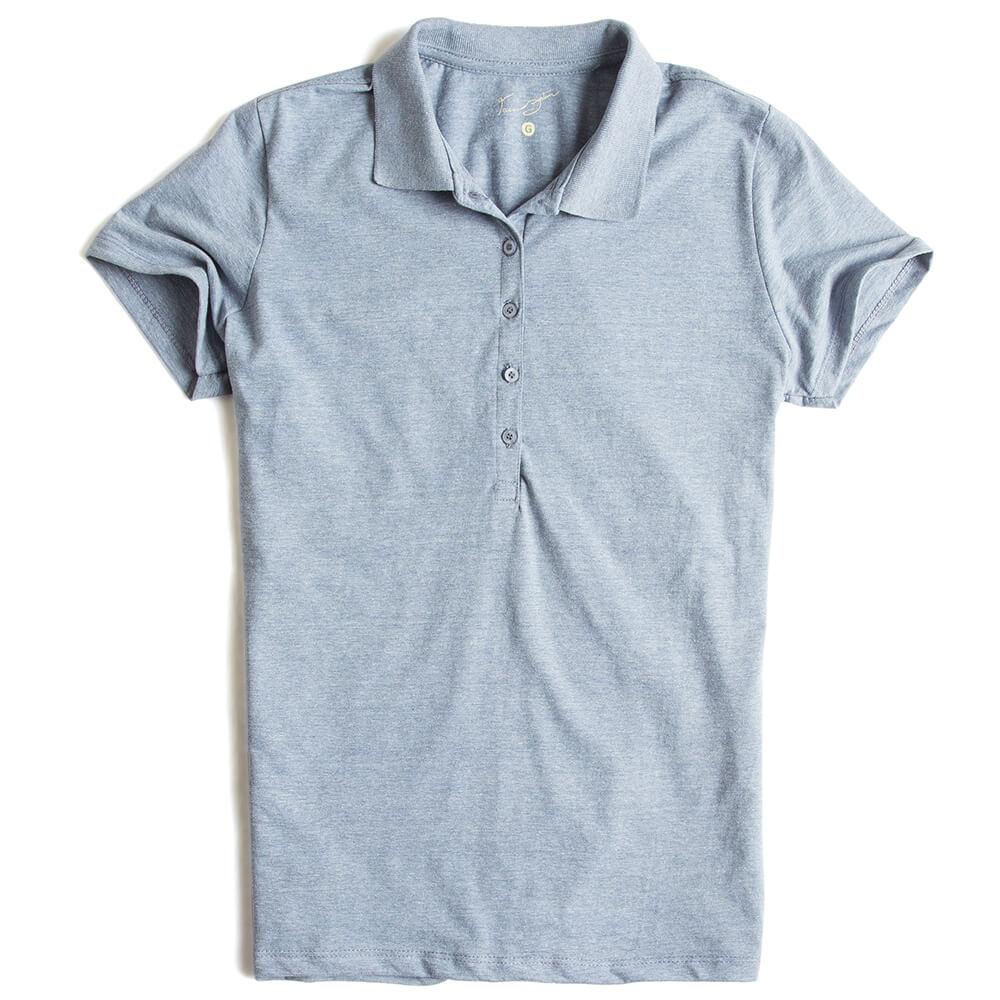 Polo-Lisa-Azul-Jeans-Mescla-Feminina