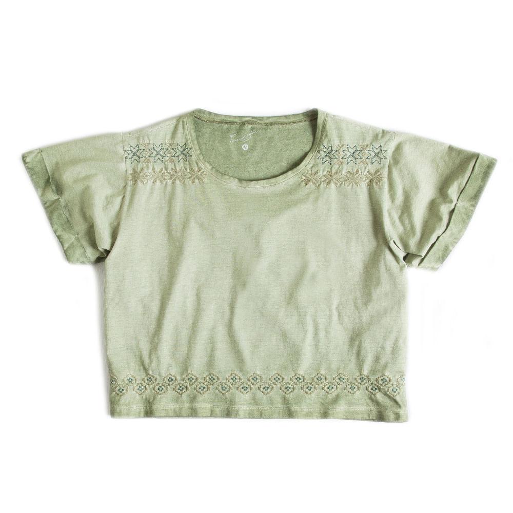 Blusa-Cropped-Verde-Feminina