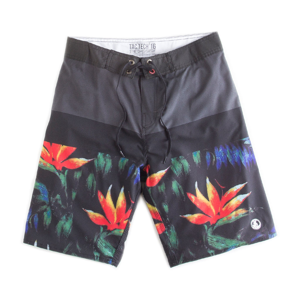 Boardshort-Estampado-Grafite