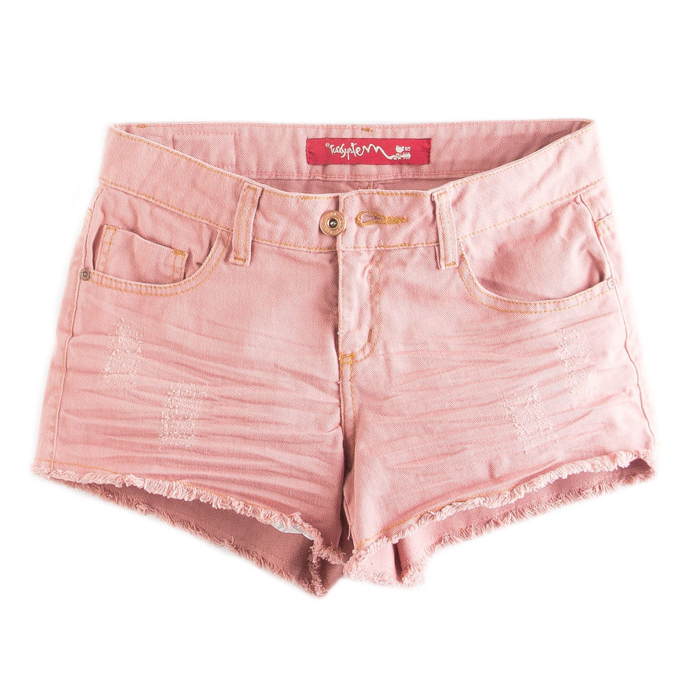 -Short-Color-Rosa-Claro-Feminino