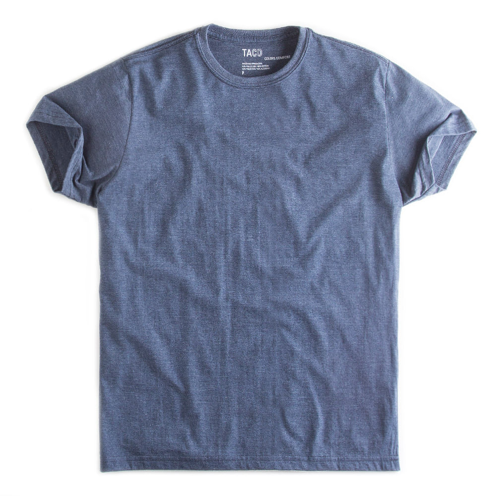 -T-shirt-Basica-Comfort-Azul-Marinho-Mescla