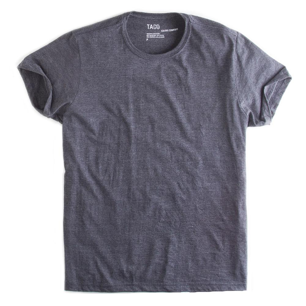 T-shirt-Basica-Comfort-Grafite-Mescla
