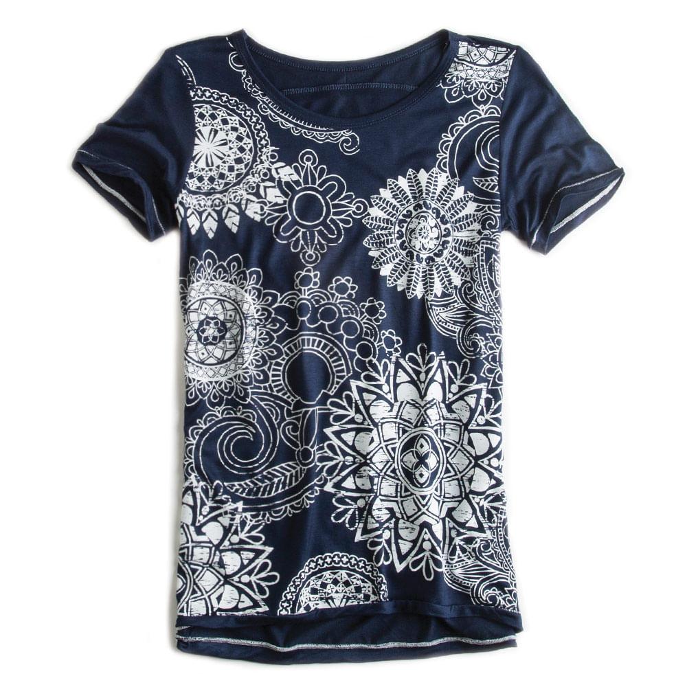 T-shirt-Estampada-Azul-Marinho-Feminina