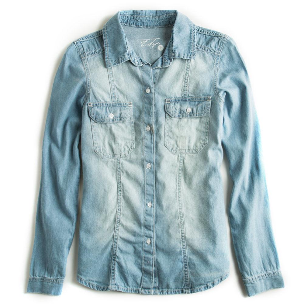 Camisa-Jeans-Manga-Longa-Feminina