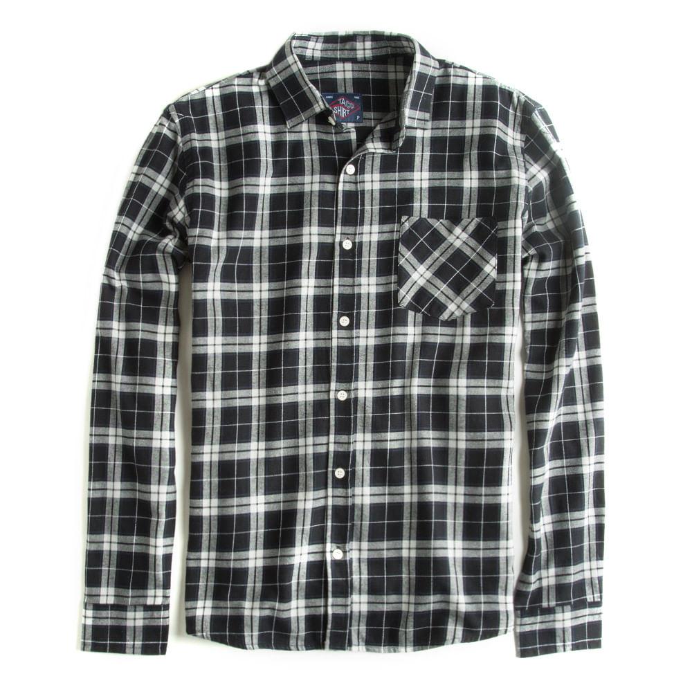 Camisa-Flanelada-Xadrez-Manga-Longa-Preta