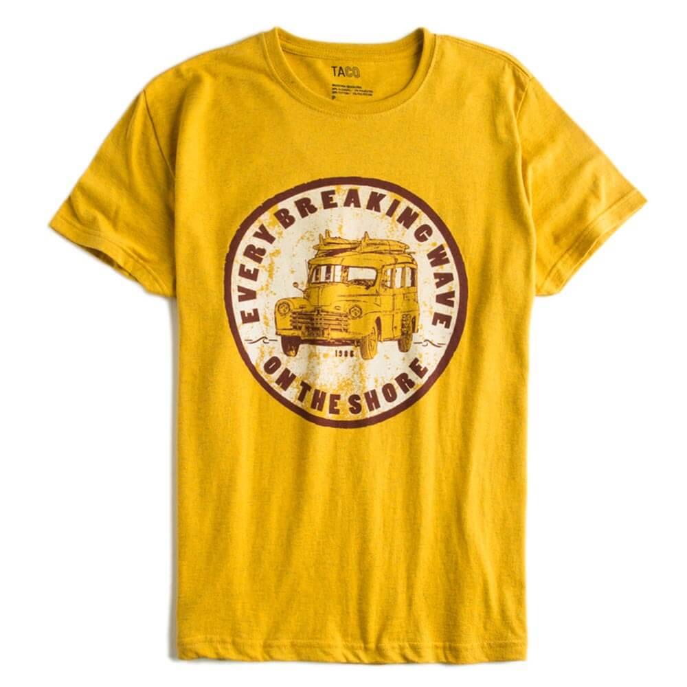 T-shirt-Estampada-Amarelo-Escuro