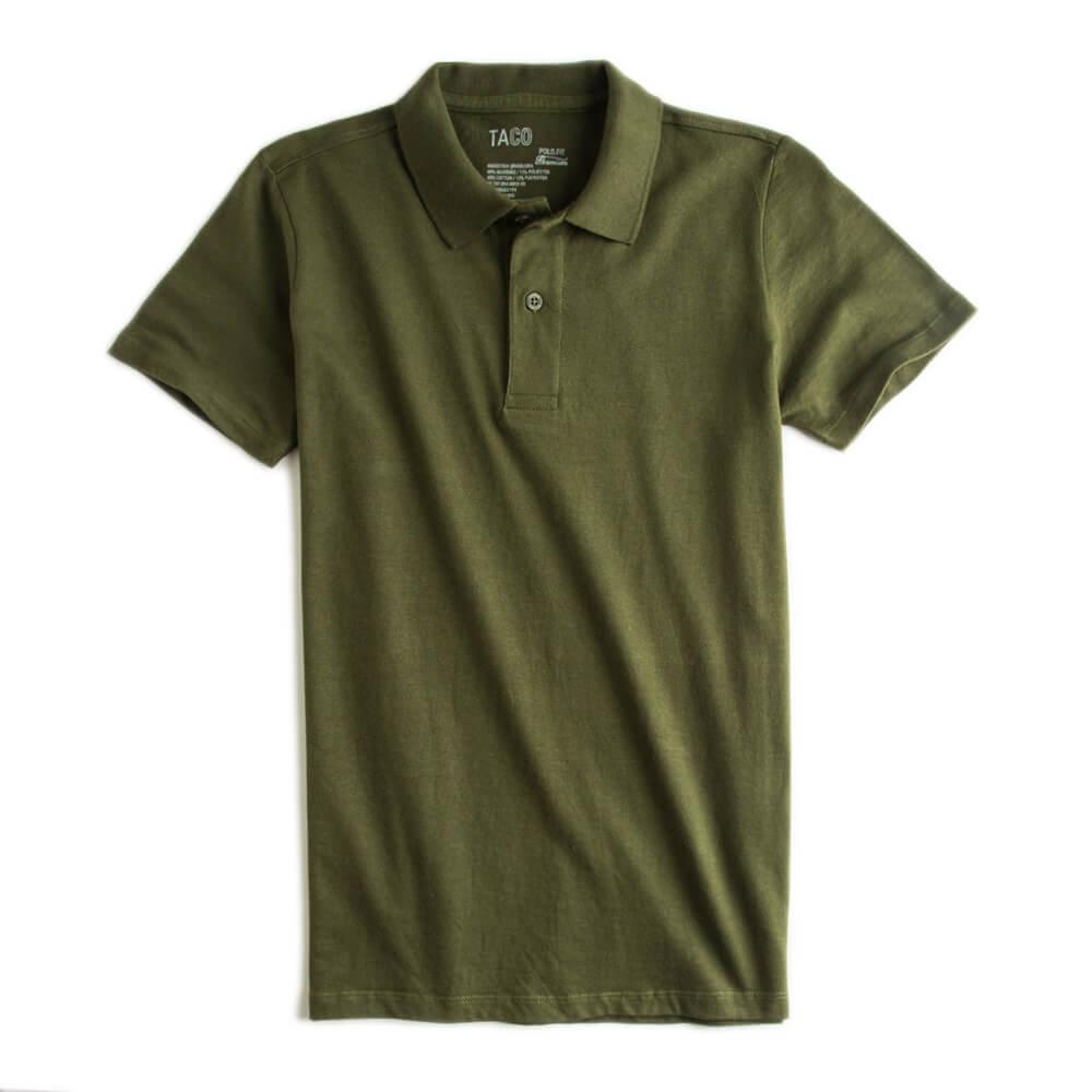Camisa-Polo-Fit-Premium-Verde-Musgo