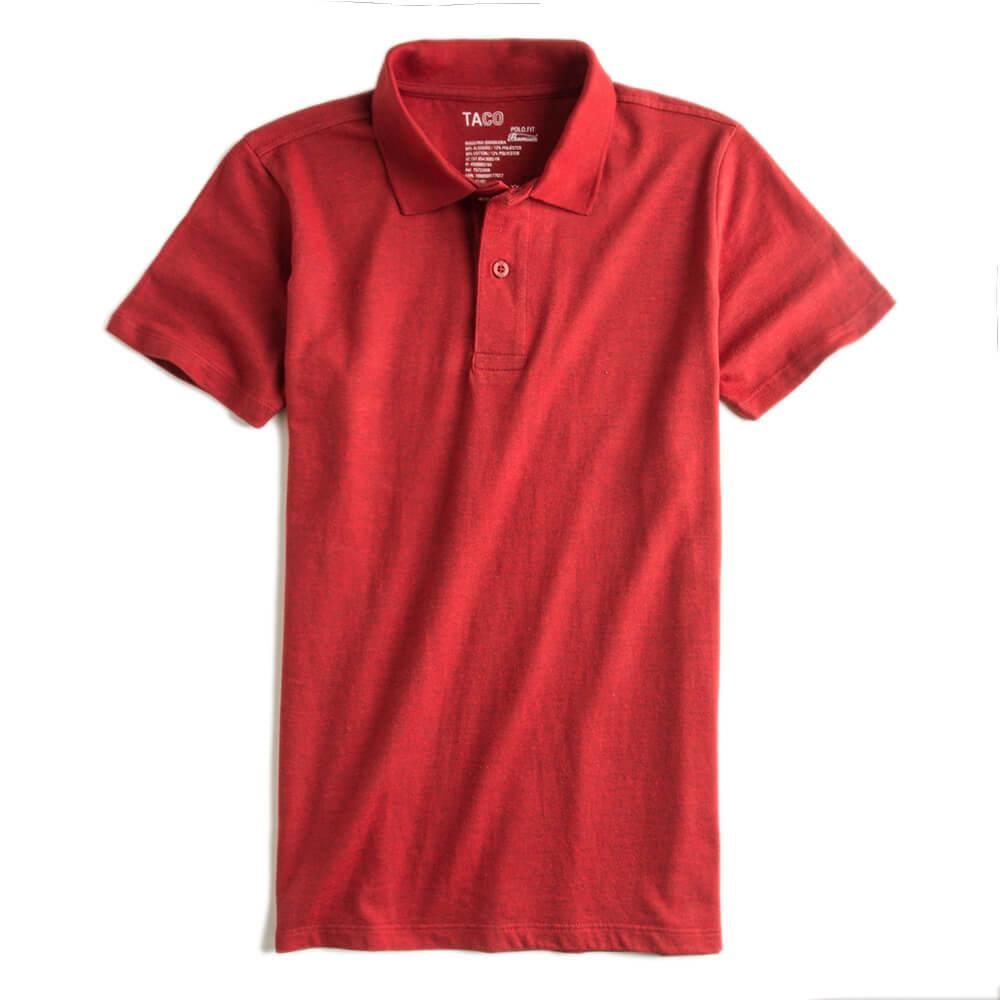 Camisa-Polo-Fit-Premium-Vermelho