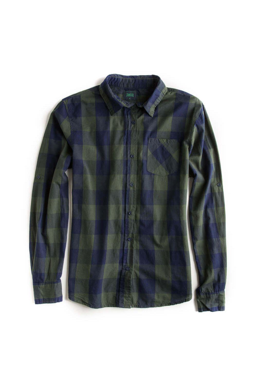 -Camisa-De-Tecido-Xadrez-Verde-Feminina