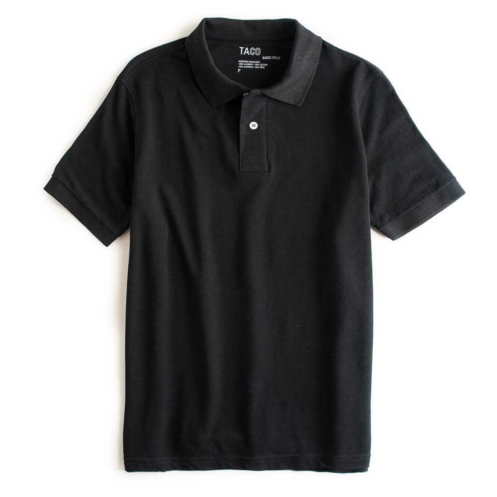 Camisa-Polo-Basica-Preta