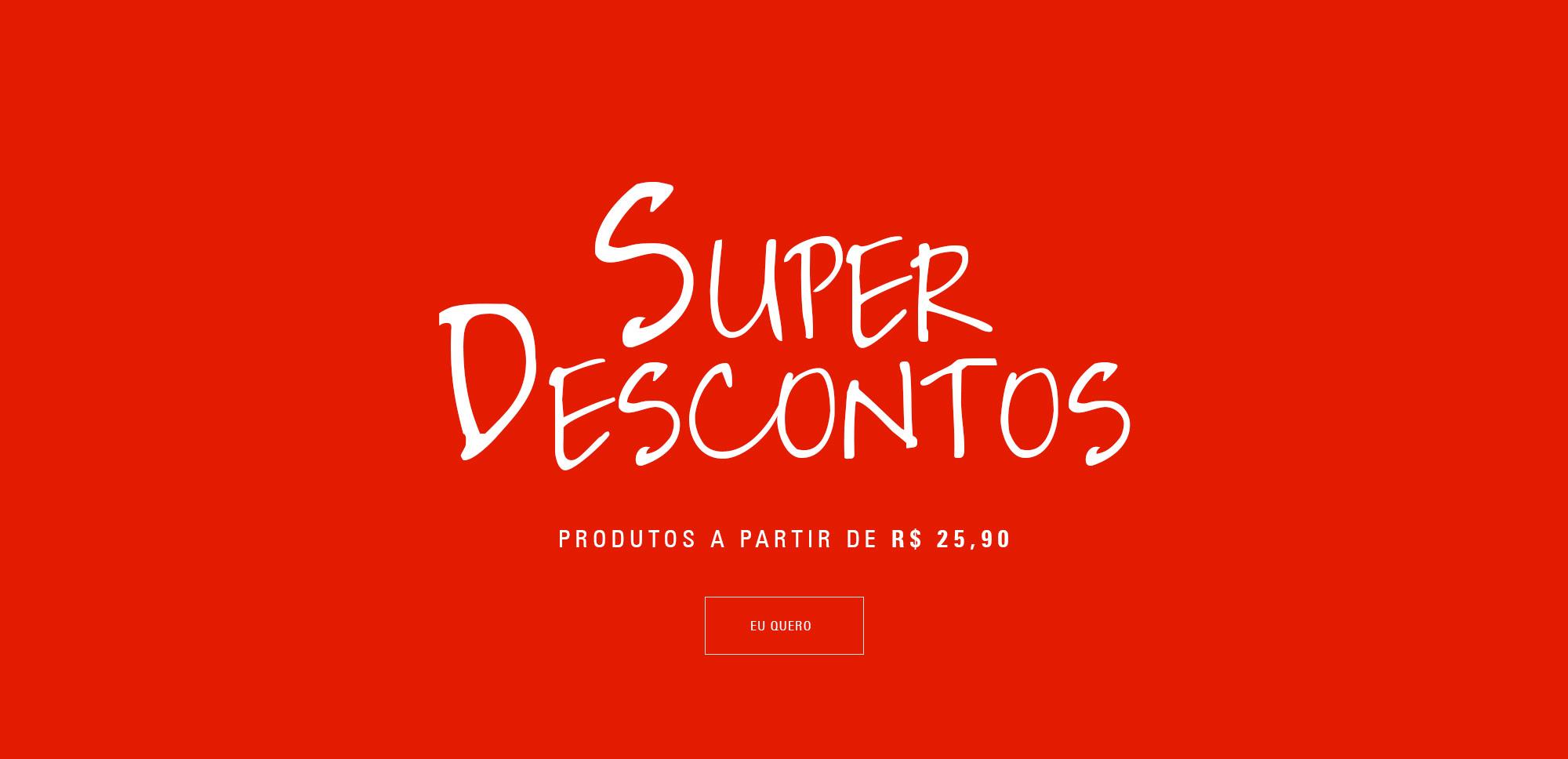 Banner Super Descontos