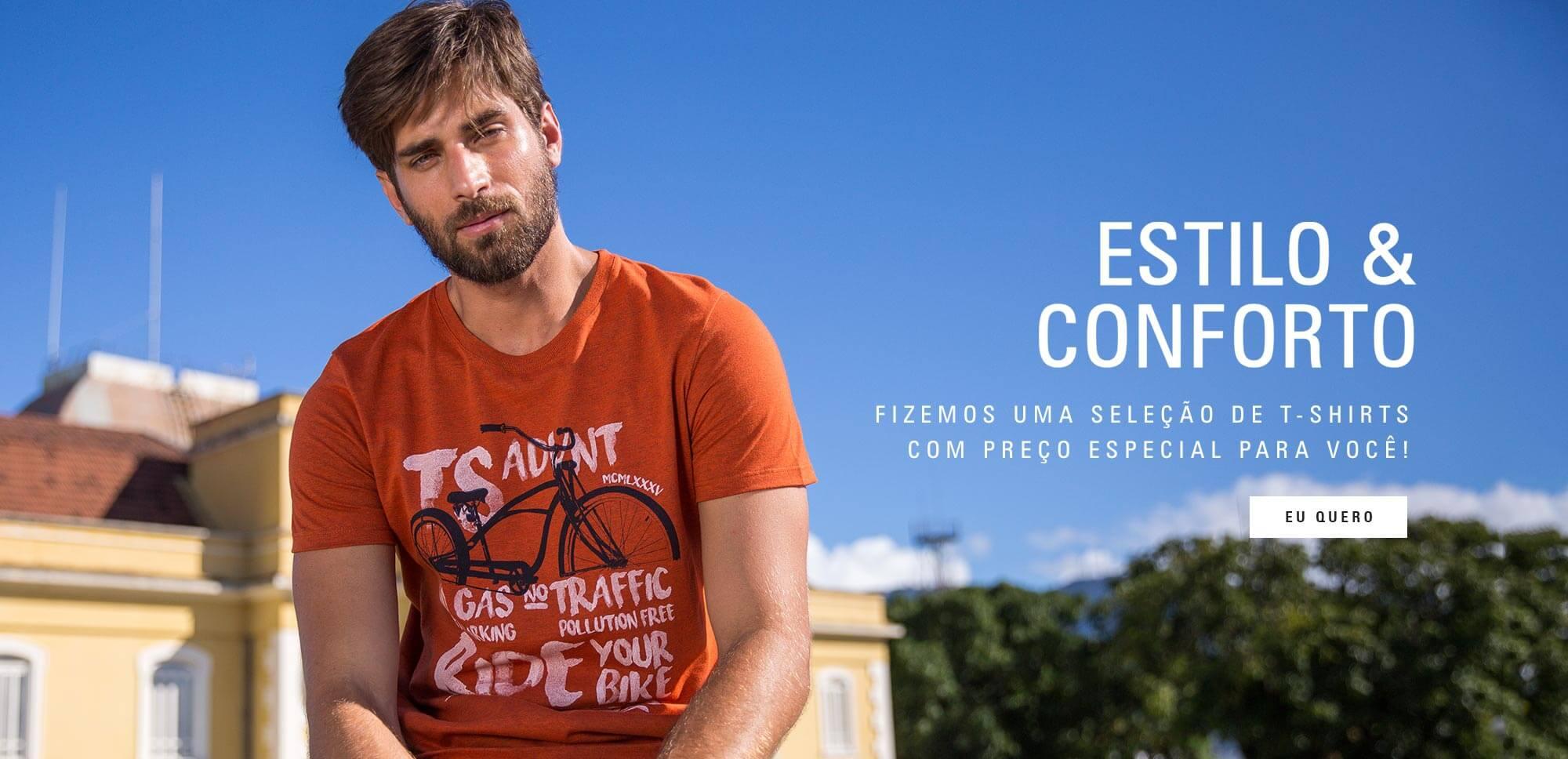 Estilo & Conforto - T-Shirts