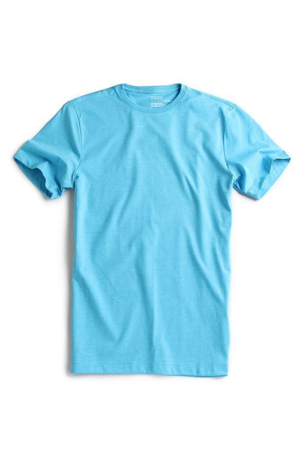 T-shirt-Basica-Azul-Turquesa-Mescla