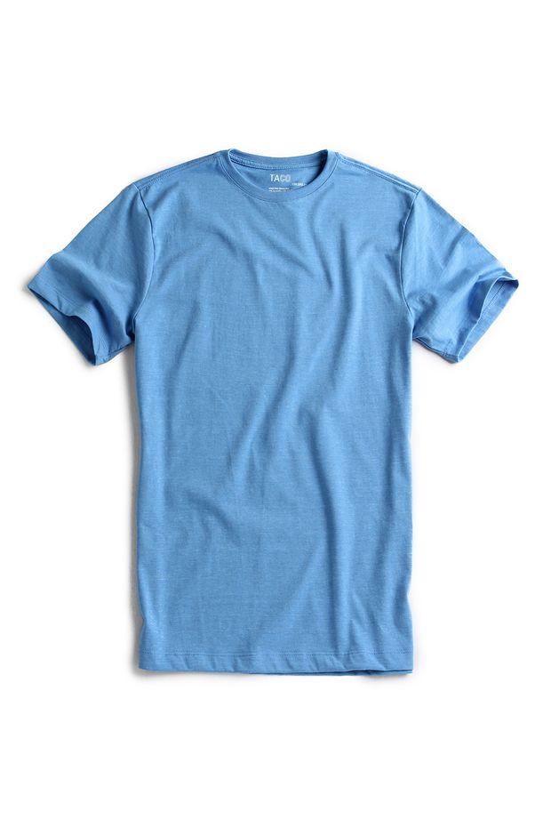 T-shirt-Basica-Azul-Royal-Mescla