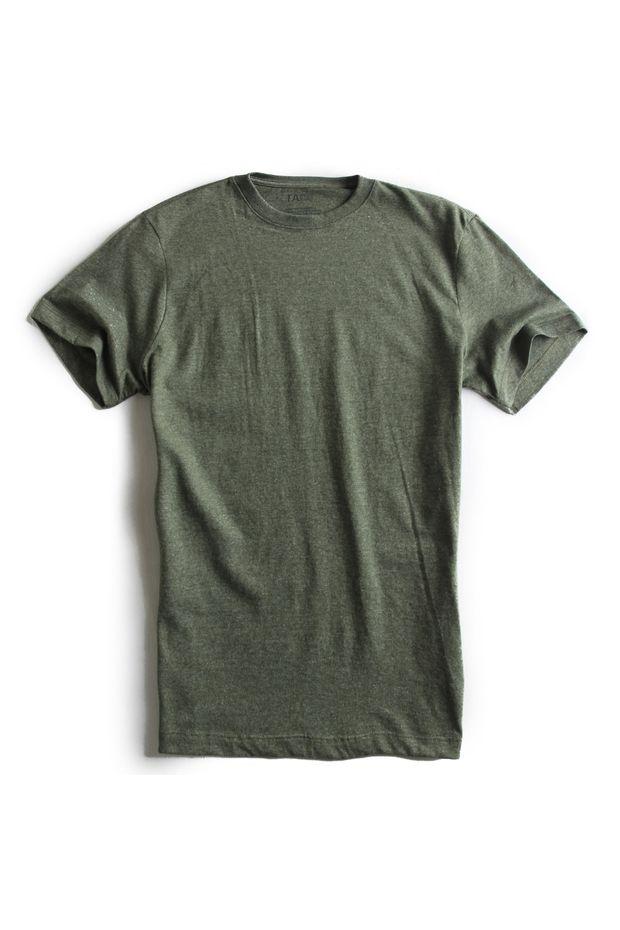 T-shirt-basica-verde-mescla