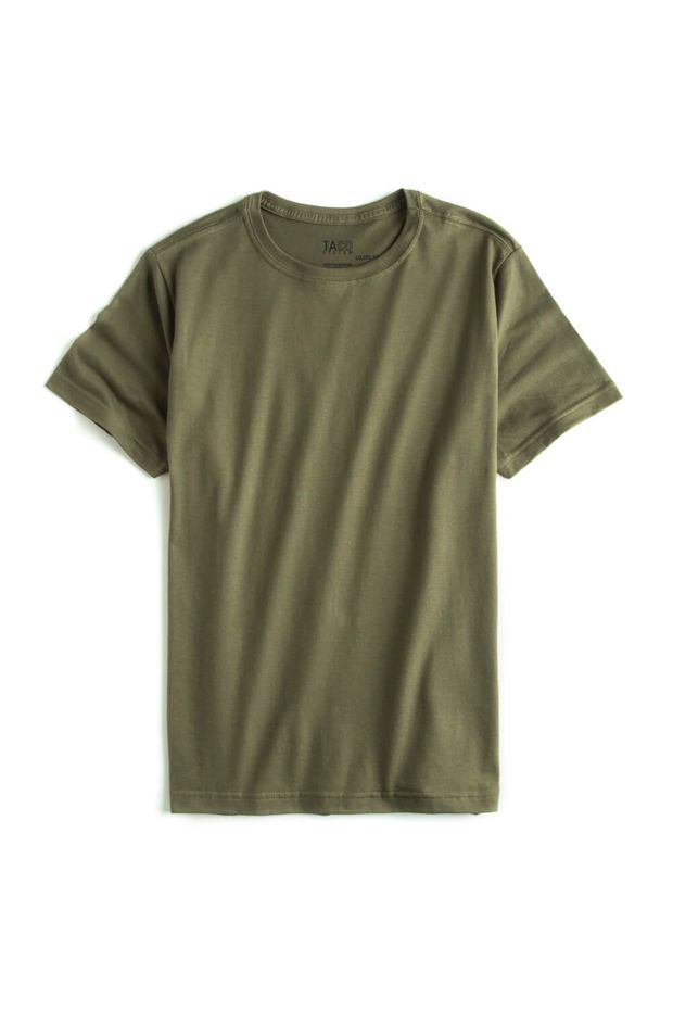 -T-shirt-Basic-Fit-Verde-Militar