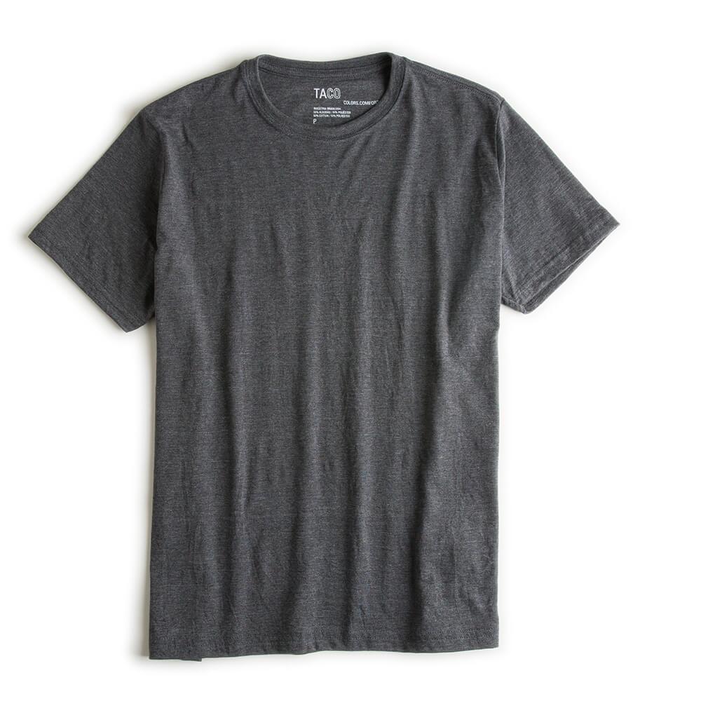 T-shirt-Basica-Comfort-Grafite