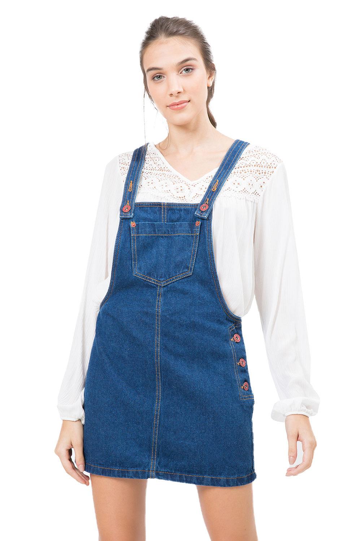 Roupas femininas vestidos jeans