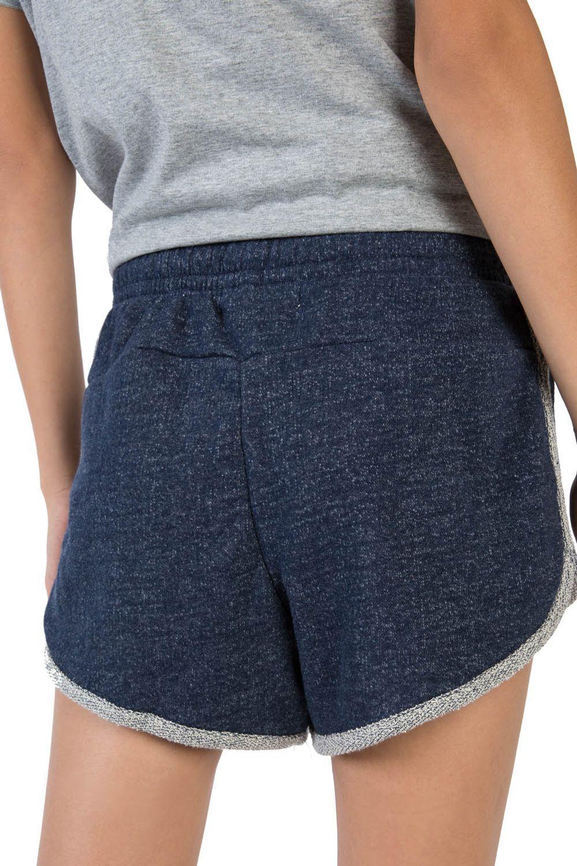 767fdfb7f6 Short Moletom Feminino Jeans Azul Jeans - Taco