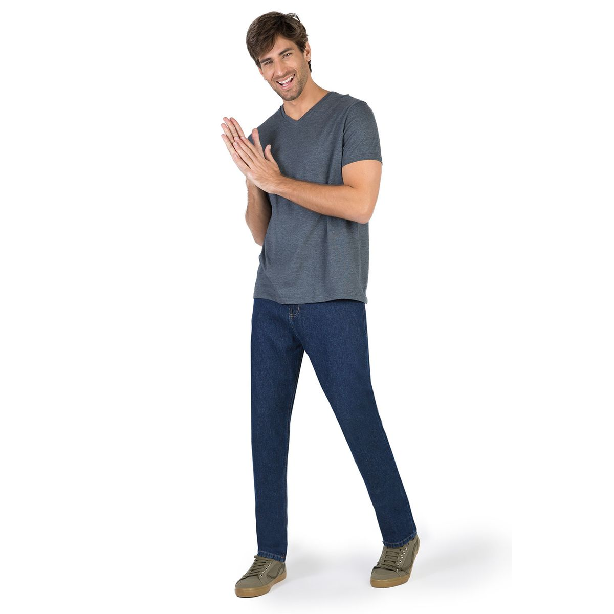 f513f0f41 Calça Jeans Comfort Basic Stone New - Taco