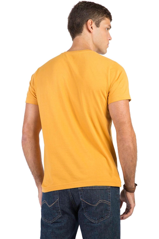c0995fcc50 T-Shirt Básica Fit Mostarda - Taco