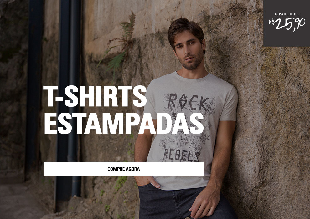 T-SHIRTS ESTAMPADAS