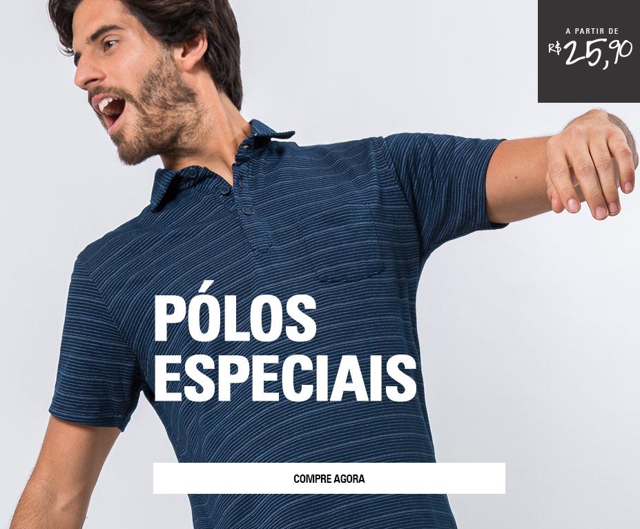 POLOS ESPECIAIS