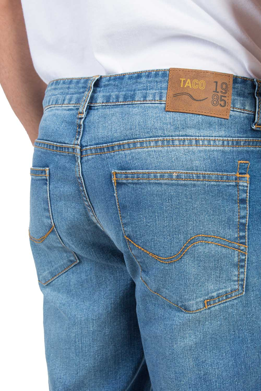 2c5041a31b Calça Jeans Reta Vintage Flex Destroyer - Taco