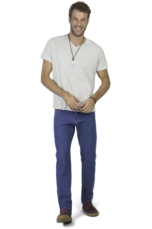 901c06e3e4e65 Calça Jeans Reta Basic Stone New - Taco