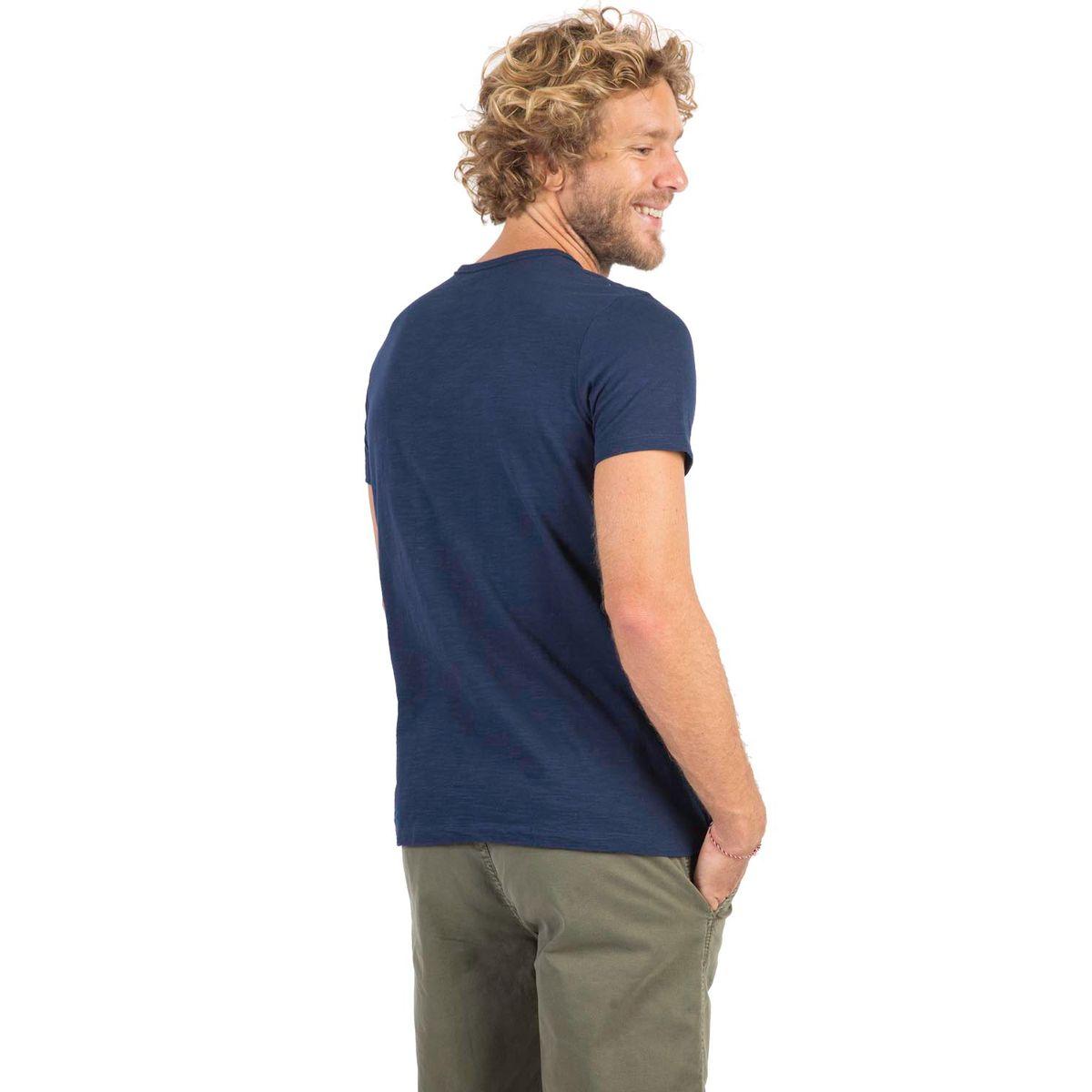 T-Shirt Gola Portuguesa Fit Flamê Azul Marinho - Taco 1e731c13e57