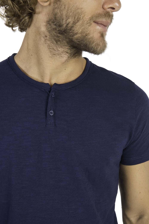 1730e5c390173 T-Shirt Gola Portuguesa Fit Flamê Azul Marinho - Taco