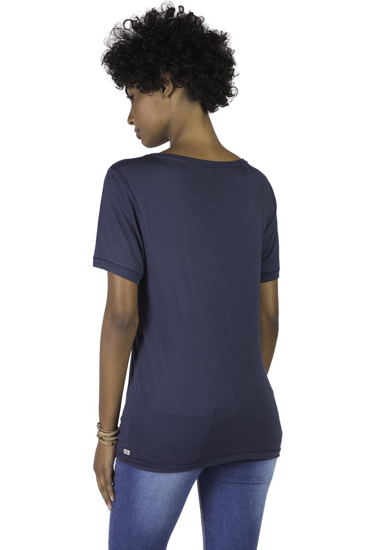6b549a5de2 Blusa Gola v Básica Premium Azul Marinho - Taco