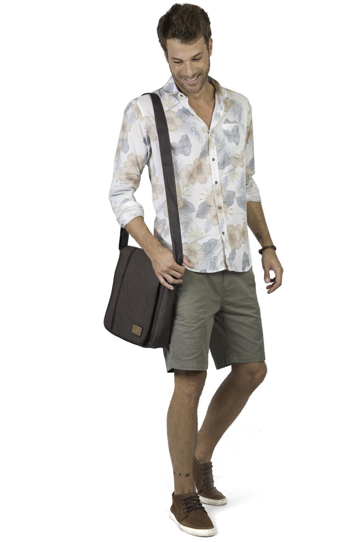 89fdcb10309 Camisa Estampada Off White - Taco