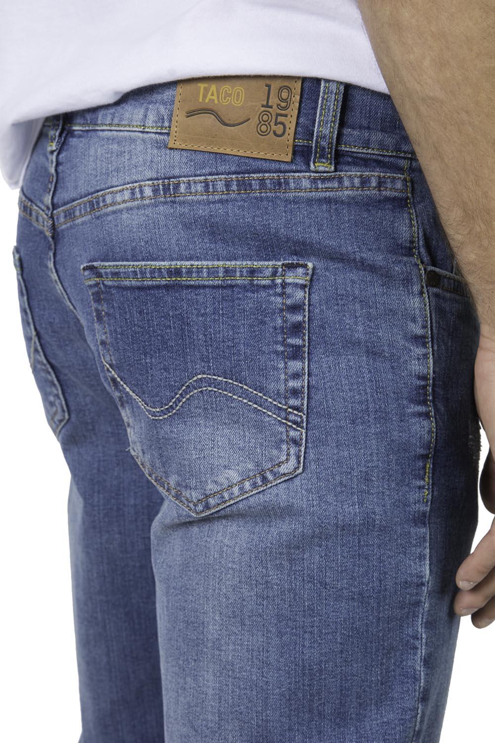 39195169cb Calça Jeans Reta Vintage Destroyer - Taco