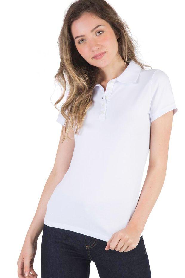 b2edd8b128 Camisa Polo Feminina - Básica