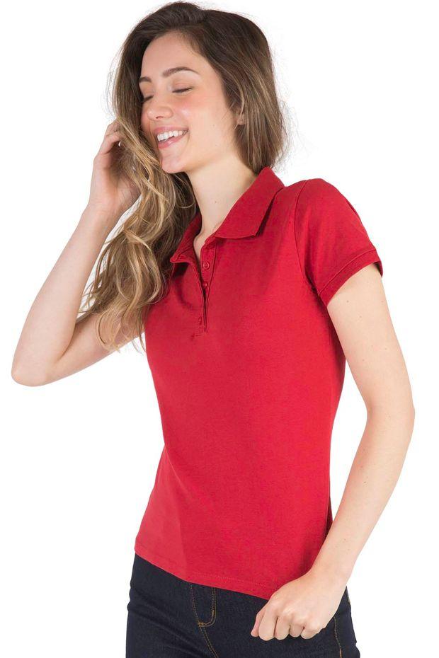 06a8cff28a427 Camisa Polo Feminina - Básica
