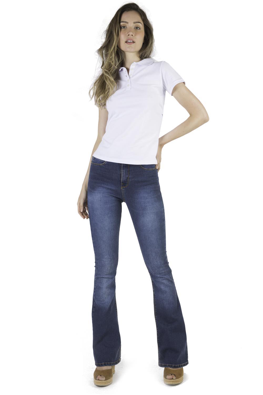43dc2124e Calça Jeans Flare Stone - Taco