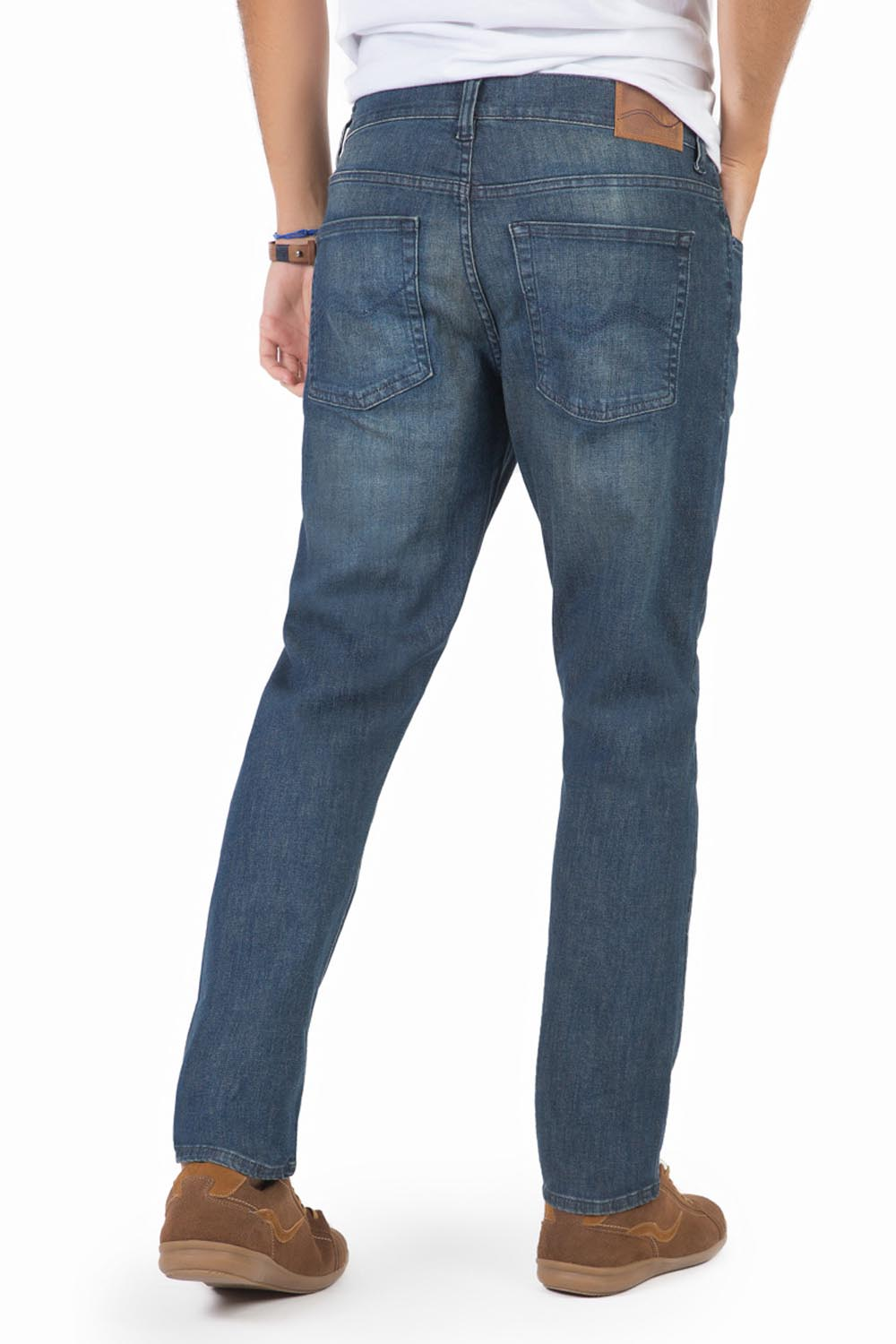 8ad45371e Calça Jeans Slim Destroyer - Taco
