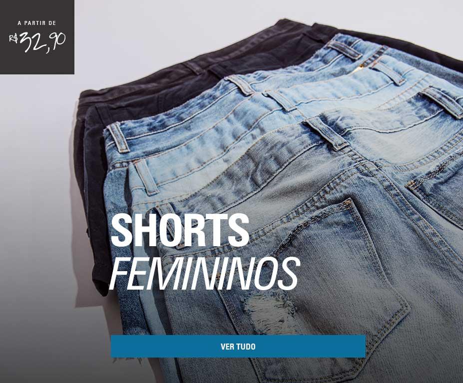 SHORT FEMININO__