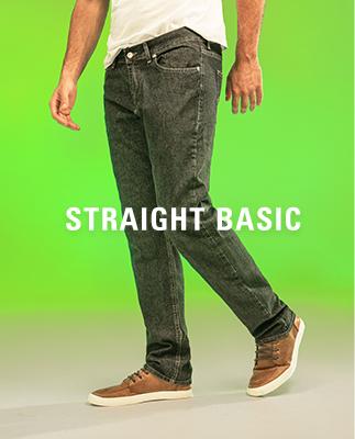 Masculino Straight Basic