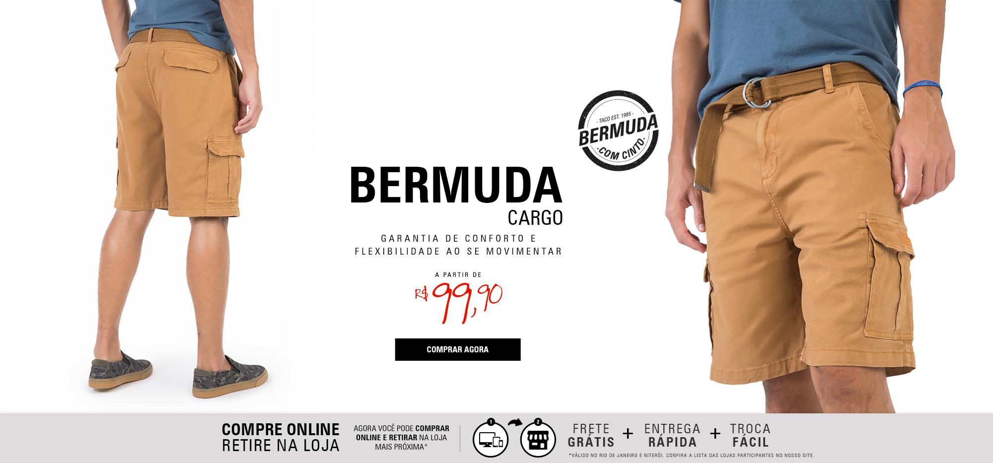 BERMUDA CARGO - ESCURO