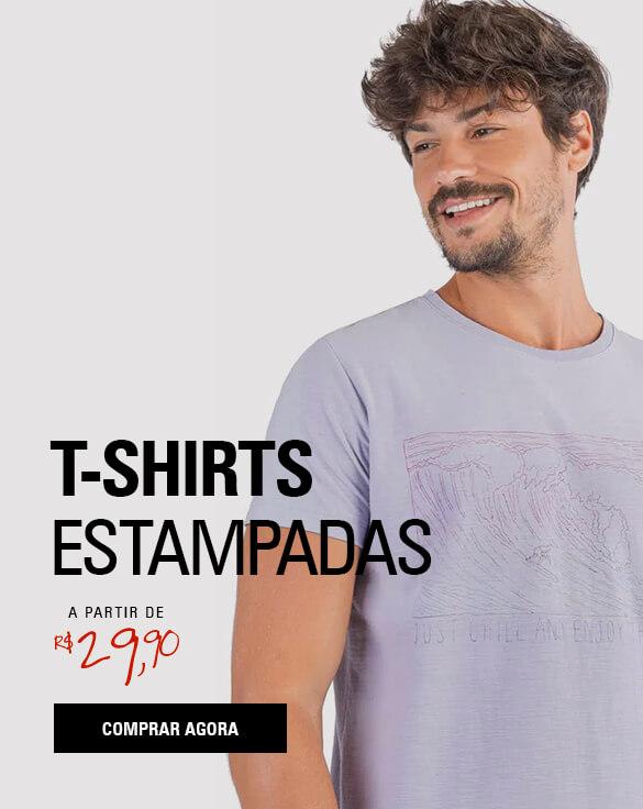 T-SHIRTS ESTAMPADAS
