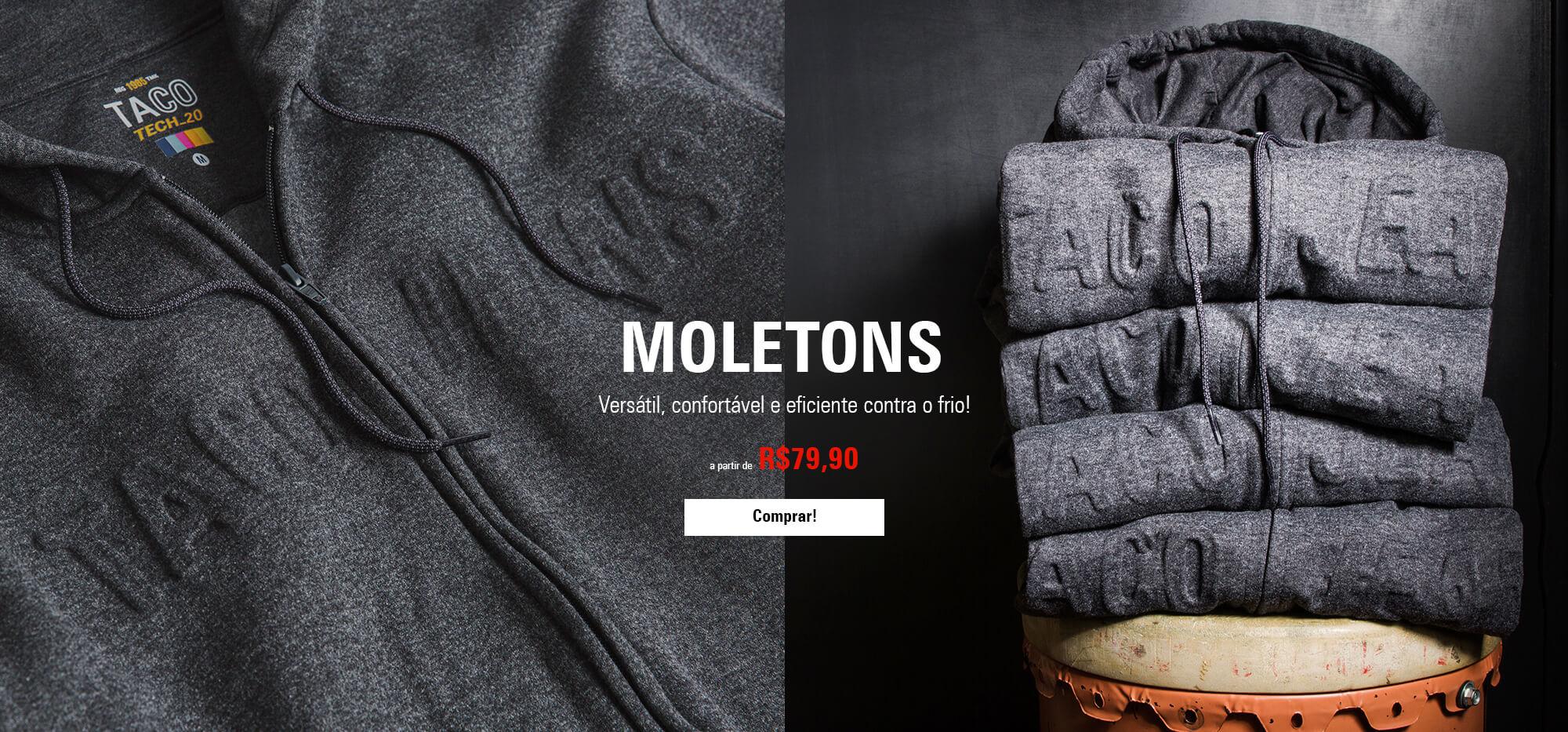 MOLETOM - CLARO